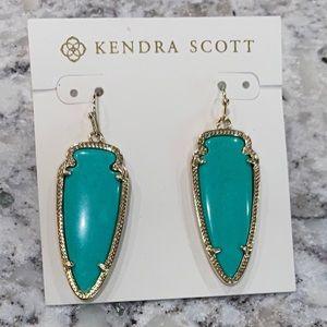 Kendra Scott Sky Arrowhead Earrings